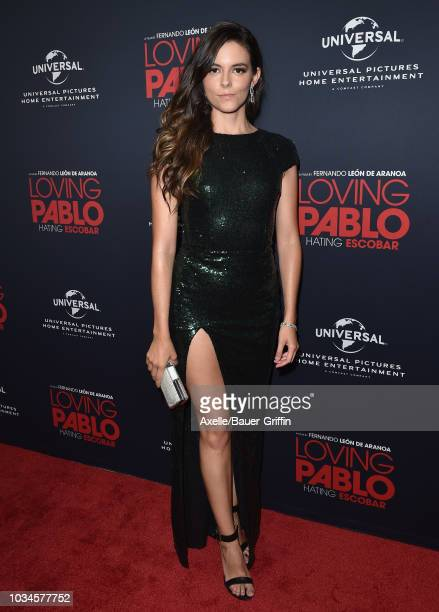 Julieth Restrepo attends Universal Pictures Home Entertainment Content Group's 'Loving Pablo' special screening at The London West Hollywood on...