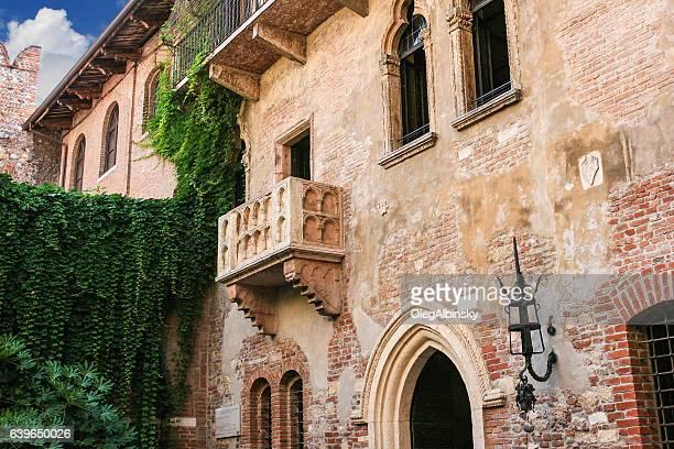 Juliet's Balcony (Romeo and Juliet, William Shakespeare), Verona, Italy.