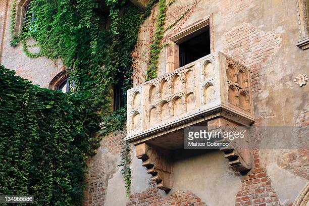 Juliet's house and balcony