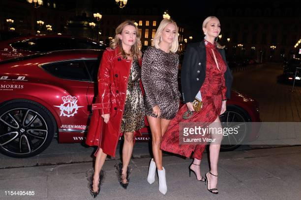 Juliette Angus, Caroline Stanbury and Amanda Cronin attend the Cash & Rocket Tour 2019: Lorenz Bäumer x Cash & Rocket Jungle cocktail party At Place...