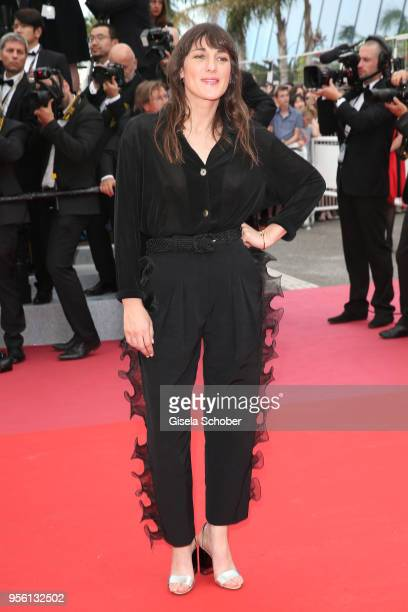Juliette Armanet attends the screening of 'Everybody Knows ' and the opening gala during the 71st annual Cannes Film Festival at Palais des Festivals...