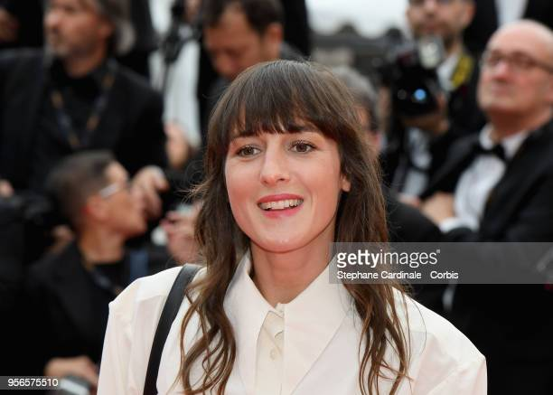 Juliette Armanet attends the screening of 'Yomeddine' during the 71st annual Cannes Film Festival at Palais des Festivals on May 9 2018 in Cannes...