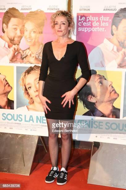 Juliette Arnaud during the 'Venise Sous La Neige' Paris Premiere at UGC Cine Cite des Halles on May 15 2017 in Paris France