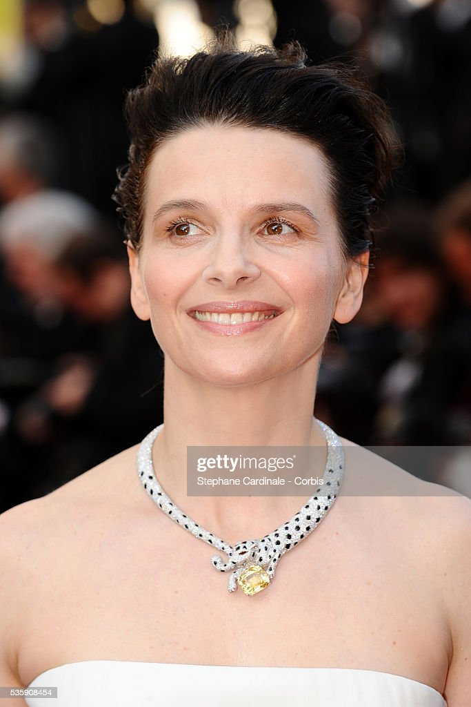 Juliette Bincohe attends the premiere of 'The tree' during the 63rd Cannes International Film Festival.