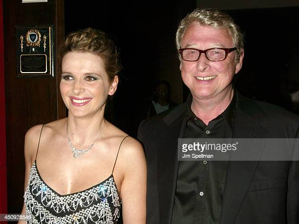 Juliette Binoche and Mike Nichols during Jet Lag Premiere New York at Bryant Park Screening Room in New York City New York United States