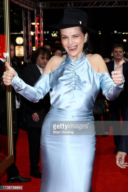 "Juliette Binoche attends the ""Celle que vous croyez"" premiere during the 69th Berlinale International Film Festival Berlin at Zoo Palast on February..."