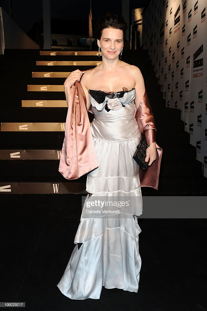 Juliette Binoche attends the Style Star Party at Carlton Beach during the 63rd Annual International Cannes Film Festival on May 21, 2010 in Cannes, France.