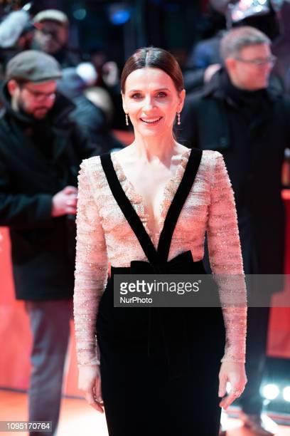 Juliette Binoche attends the 'The Kindness Of Strangers' Red Carpet at the 69th Berlinale International Film Festival Berlin on February 7 in Berlin...