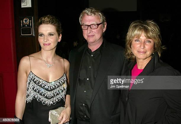 Juliette Binoche Mike Nichols and Director Daniele Thompson