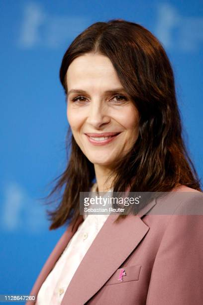 Juliette Binoche poses at the Who You Think I Am photocall during the 69th Berlinale International Film Festival Berlin at Grand Hyatt Hotel on...