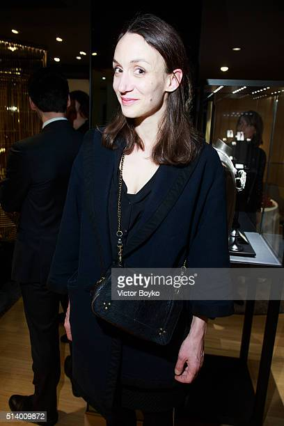 Juliette Chauvin attends the Piaget X Evelina Khromtchenko Party as part of the Paris Fashion Week Womenswear Fall/Winter 2016/2017 on March 5 2016...