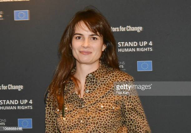 Juliette Chene attends 'Mobile Film Festival Stand Up 4 Human Rights Awards' Ceremony Hosted by Youtube Creators For Change at Cinema MK2...