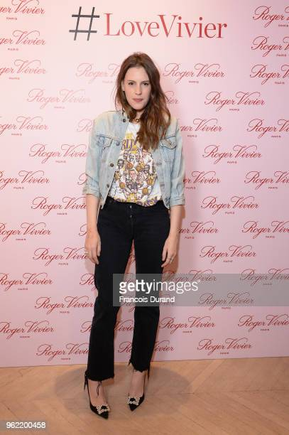 Juliette Dol attends Roger Vivier #LoveVivier Book Launch Cocktail on May 24 2018 in Paris France