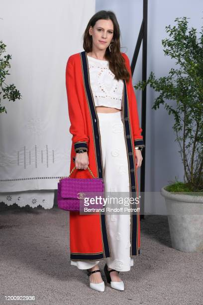 Juliette Dol attends the Chanel Haute Couture Spring/Summer 2020 show as part of Paris Fashion Week on January 21, 2020 in Paris, France.