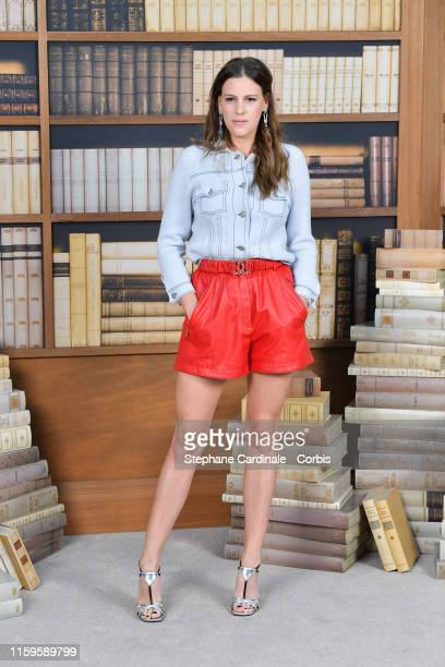 Juliette Dol attends the Chanel photocall as part of Paris Fashion Week Haute Couture Fall Winter 2020 at Grand Palais on July 02 2019 in Paris France