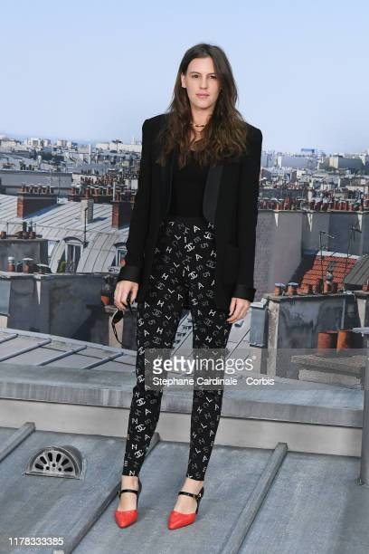 Juliette Dol attends the Chanel Womenswear Spring/Summer 2020 show as part of Paris Fashion Week on October 01 2019 in Paris France
