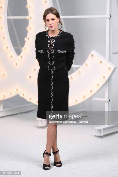 Juliette Dol attends the Chanel Womenswear Spring/Summer 2021 show as part of Paris Fashion Week on October 06, 2020 in Paris, France.