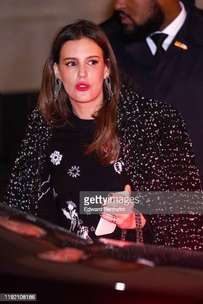 Juliette Dol is seen outside the Chanel Metiers d'art 20192020 show at Le Grand Palais on December 04 2019 in Paris France