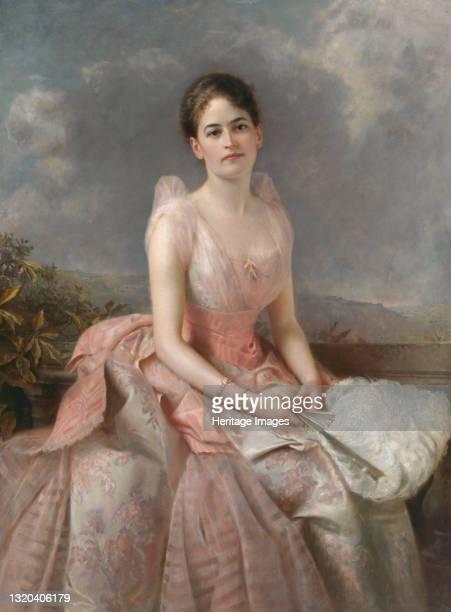 Juliette Gordon Low, 1887. Artist Edward Hughes.
