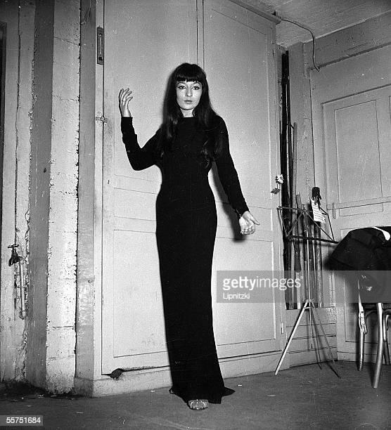 Juliette Greco French singer Paris Bobino in November 1951 LIP022030019