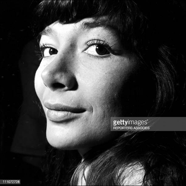 Juliette Greco in the fifties in France