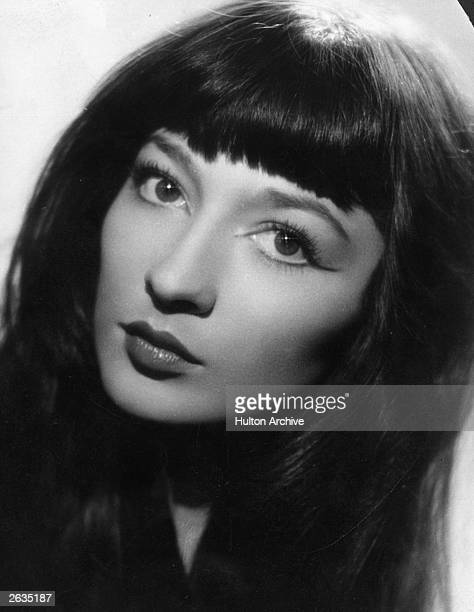 Juliette Greco the French singer and film actress