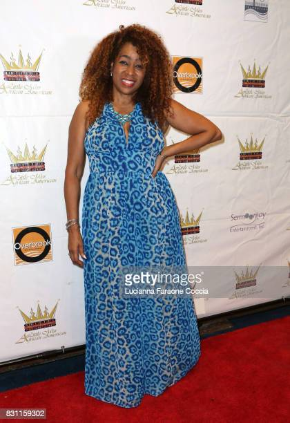 Juliette Hagerman attends the 42nd Little Miss African American Scholarship Pageant at Barnsdall Art Park on August 13 2017 in Los Angeles California