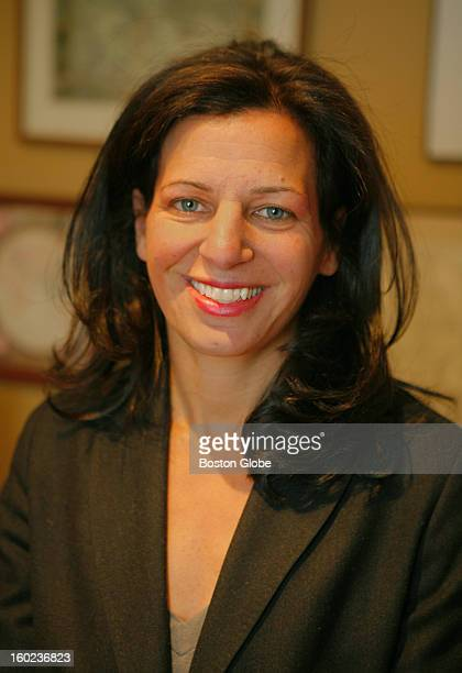 Juliette Kayyem Massachusetts' new Under Secretary of Homeland Security in her home Wednesday January 10 2007