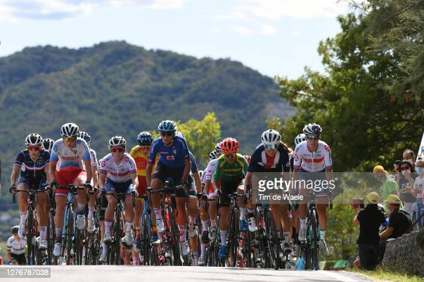 Juliette Labous of France / Anna Henderson of The United Kingdom / Gloria Rodriguez Sanchez of Spain / Ashleigh Moolman - Pasio of South Africa /...