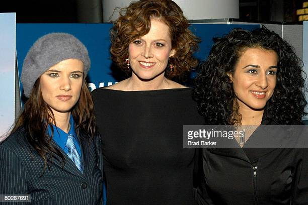 Juliette Lewis and Sigourney Weaver Layla Alizada