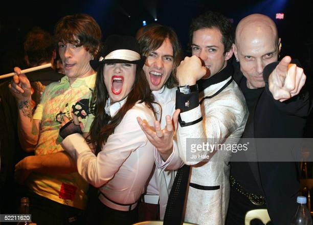 Juliette Lewis and the Licks attends the aftershow party following The Shockwaves NME Awards 2005 at Hammersmith Palais on February 17 2005 in London...