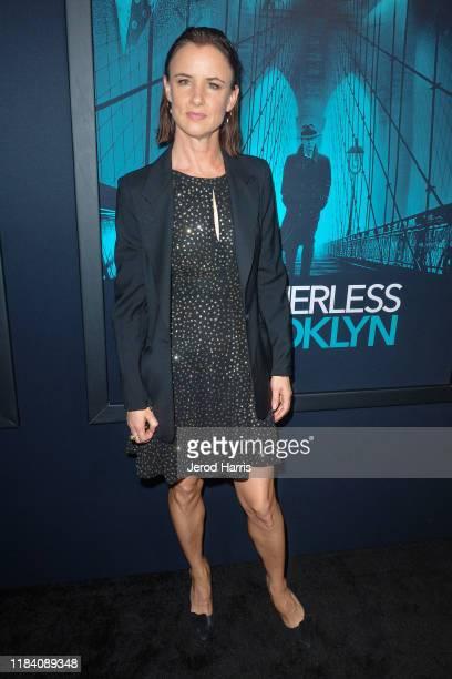 Juliette Lewis arrives at Premiere Of Warner Bros Pictures' 'Motherless Brooklyn' on October 28 2019 in Los Angeles California