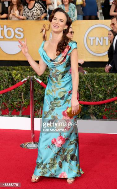 Juliette Lewis arrives at the 20th Annual Screen Actors Guild Awards at the Shrine Auditorium on January 18 2014 in Los Angeles California