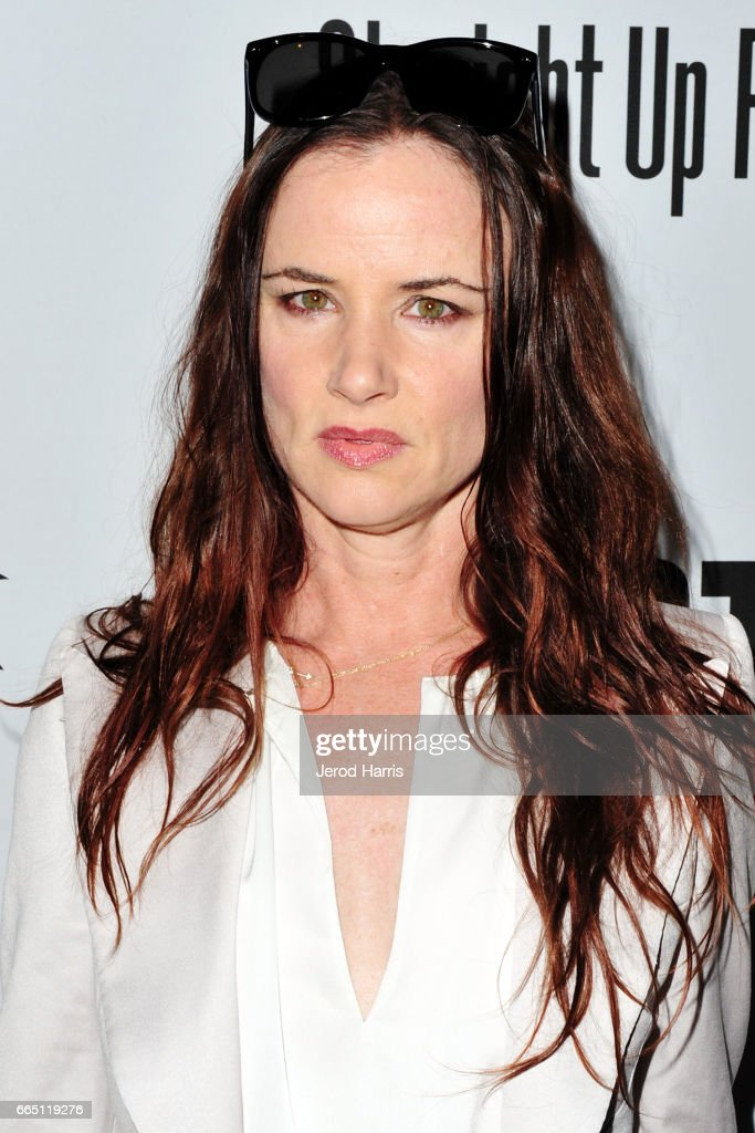 Juliette Lewis arrives at the Premiere of 'SHOT! The Psycho-Spiritual Mantra of Rock' at Pacific Theatres at The Grove on April 5, 2017 in Los Angeles, California.