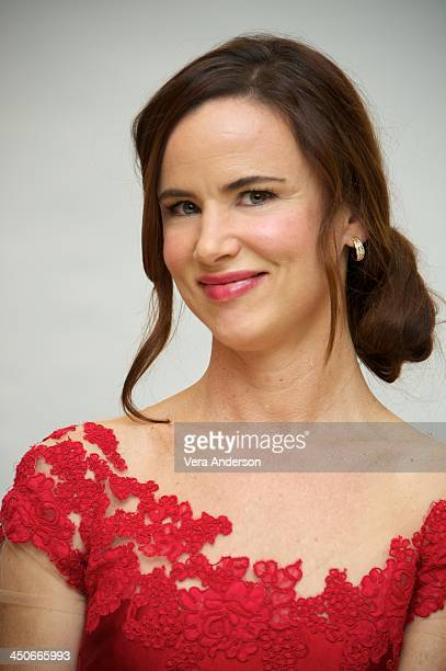 Juliette Lewis at the 'August Osage County' Press Conference at Shutters On The Beach on November 19 2013 in Santa Monica California
