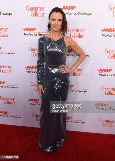 Juliette Lewis attends AARP The Magazine's 19th Annual Movies For Grownups Awards at Beverly Wilshire A Four Seasons Hotel on January 11 2020 in...