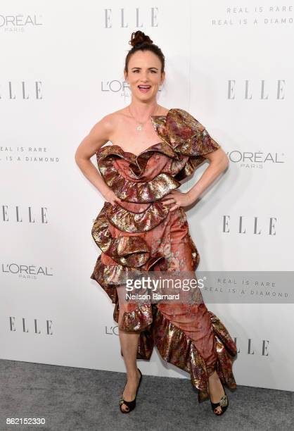 Juliette Lewis attends ELLE's 24th Annual Women in Hollywood Celebration presented by L'Oreal Paris Real Is Rare Real Is A Diamond and CALVIN KLEIN...