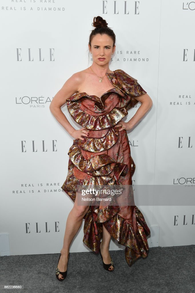 Juliette Lewis attends ELLE's 24th Annual Women in Hollywood Celebration presented by L'Oreal Paris, Real Is Rare, Real Is A Diamond and CALVIN KLEIN at Four Seasons Hotel Los Angeles at Beverly Hills on October 16, 2017 in Los Angeles, California.