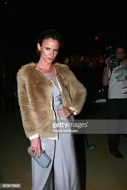 Juliette Lewis attends PHILLIP LIM Spring 2008 Fashion Show at Bryant Park Tents on September 10 2008 in New York City
