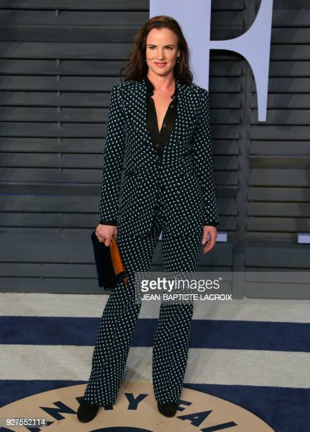 Juliette Lewis attends the 2018 Vanity Fair Oscar Party following the 90th Academy Awards at The Wallis Annenberg Center for the Performing Arts in...