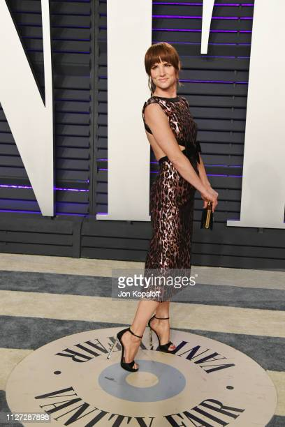 Juliette Lewis attends the 2019 Vanity Fair Oscar Party hosted by Radhika Jones at Wallis Annenberg Center for the Performing Arts on February 24,...