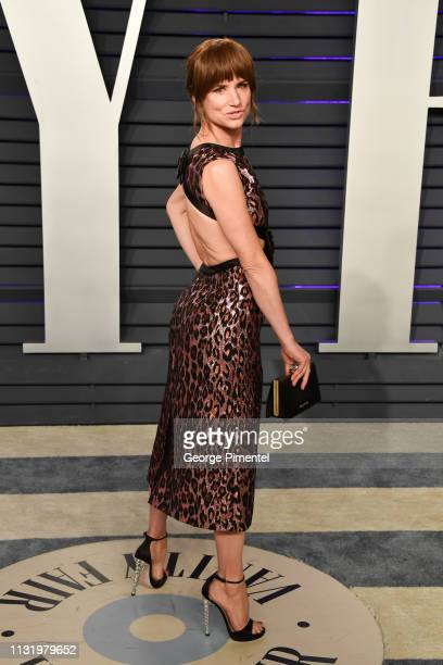 Juliette Lewis attends the 2019 Vanity Fair Oscar Party hosted by Radhika Jones at Wallis Annenberg Center for the Performing Arts on February 24...