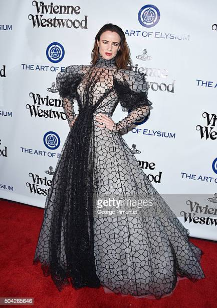 Juliette Lewis attends the Art of Elysium 2016 HEAVEN Gala presented by Vivienne Westwood & Andreas Kronthaler at 3LABS on January 9, 2016 in Culver...