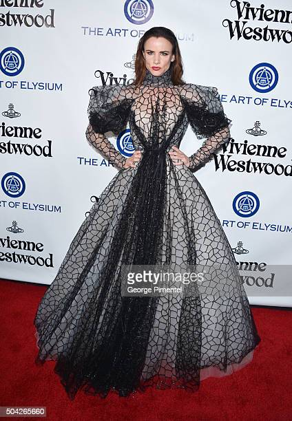 Juliette Lewis attends the Art of Elysium 2016 HEAVEN Gala presented by Vivienne Westwood Andreas Kronthaler at 3LABS on January 9 2016 in Culver...