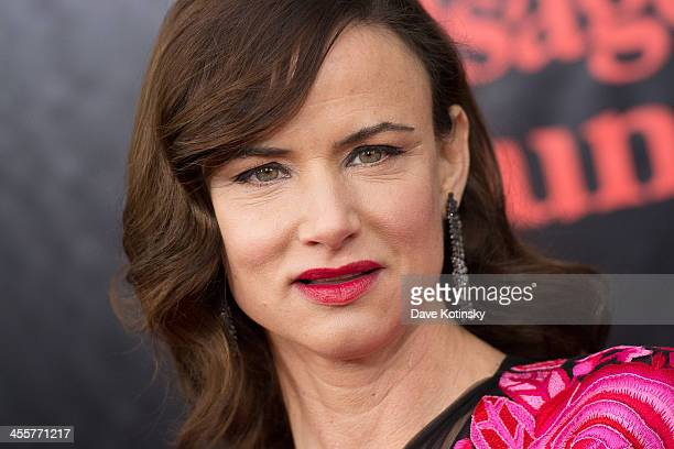 Juliette Lewis attends the 'August Osage County' premiere at Ziegfeld Theater on December 12 2013 in New York City