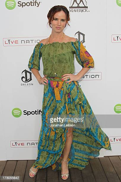 Juliette Lewis attends the Guy Oseary's July 4th event in Malibu presented by Spotify and Live Nation with DeLeon and VitaCoco at Nobu Malibu on July...