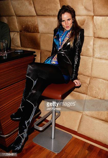Juliette Lewis attends the Led Zeppelin Tribute To Ahmet Ertegun concert afterparty held at the O2 Arena on December 10 2007 in London England