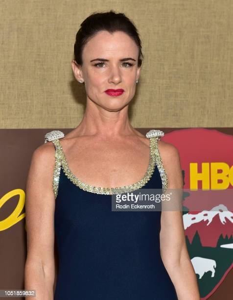 Juliette Lewis attends the Los Angeles premiere of HBO series Camping at Paramount Studios on October 10 2018 in Hollywood California