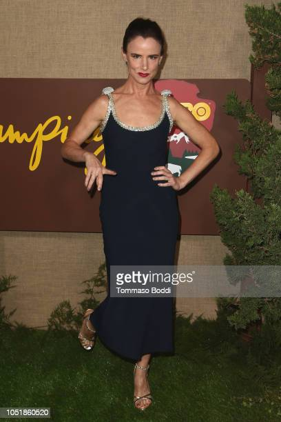"""Juliette Lewis attends the Los Angeles Premiere Of HBO Series """"Camping"""" at Paramount Studios on October 10, 2018 in Hollywood, California."""