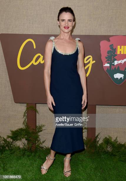 Juliette Lewis attends the Los Angeles premiere of HBO series 'Camping' at Paramount Studios on October 10, 2018 in Hollywood, California.